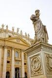 St Peter bazylika w Watykan, Rzym, Włochy Zdjęcie Stock