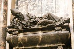 St Peter bazyliki sztuk rzeźba - Watykan Zdjęcie Stock