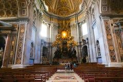 St Peter bazyliki sztuk rzeźba - Watykan Zdjęcia Royalty Free