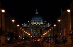 St Peter bis zum Nacht Lizenzfreie Stockbilder