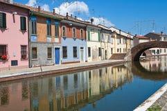 St. Peter Bridge. Comacchio. Emilia-Romagna. Italy. Royalty Free Stock Image