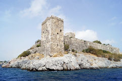 St. Peter castle in Bodrum Royalty Free Stock Photo