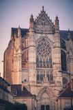 St. Peter Cathedral in Beauvais Stock Images