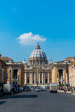 St. Peter Cathedral on March 21 in Rome, Italy. Stock Photography