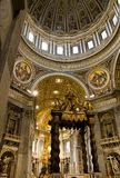 St. Peter Cathedral in Vatican Royalty Free Stock Images