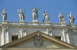 St. Peter Cathedral, Vatican Royalty Free Stock Image