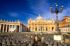St. Peter Cathedral in Vatican, Rome royalty free stock images