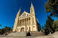 St. Peter Catherdal. Gaspar city Royalty Free Stock Images