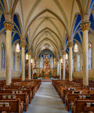 St. Peter Catholic Church Royalty Free Stock Photography