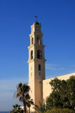 St. Peter church. In Old Jaffa, Israel Royalty Free Stock Photo