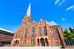 St Peter Church en Hamburgo fotografía de archivo