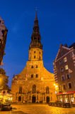 St. Peter Church in Riga Stock Photography