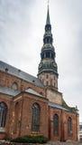 St. Peter Church, Riga Stock Photos