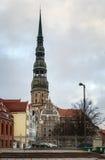 St. Peter Church, Riga Stock Photography
