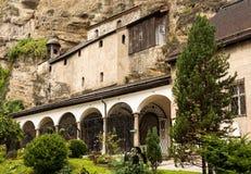 St Peter cmentarz Salzburg Obrazy Royalty Free