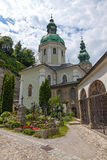St Peter cmentarz, Salzburg, Austria Zdjęcia Royalty Free