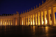 St. peter colonnade Royalty Free Stock Photos