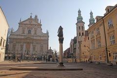 St Peter cracow foto de stock