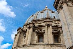 St Peter de Basiliek is een Recente binnen gevestigde Renaissancekerk stock foto