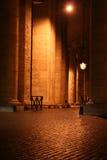 St. Peter de Nacht van de Colonnade royalty-vrije stock foto's