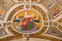 St. Peter dome in Rome Stock Images