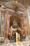 St. Peter dome in Rome. ROME - August 03: Architectural fragment of St. Peter's Cathedral on August 03, 2014 in Vatican (Rome), Italy Stock Photos