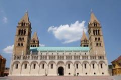 St Peter e st Paul Basilica a Pecs Ungheria Fotografia Stock