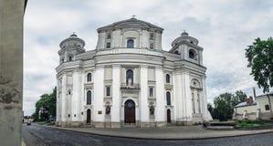 St Peter et Paul Cathedral dans Lutsk, Ukraine images stock