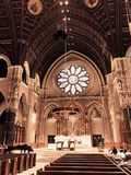 St Peter et Paul Cathedral, Providence, RI Photos libres de droits