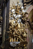 St Peter et x27 ; église de s et x28 ; Peterskirche& x29 ; à Vienne Photographie stock libre de droits