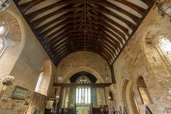 St Peter i St Paul ` s kościół - Nave sufit Obraz Royalty Free