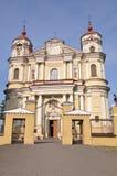 St Peter i St Paul kościół w Vilnius Zdjęcie Royalty Free
