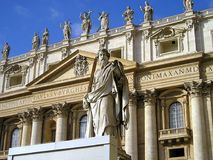 St. Peter In Rome Stock Photography