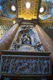 In st. Peter Kathedraal in Vaticano Royalty-vrije Stock Foto