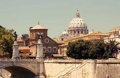 St. Peter Kathedraal, Vatikaan stock foto's