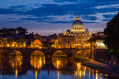 St Peter Kathedrale in Rom, Italien Lizenzfreie Stockfotografie