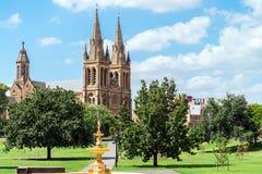 St Peter Kathedrale von Adelaide Stockfotos