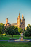 St Peter Kathedrale von Adelaide bei Sonnenuntergang Lizenzfreies Stockbild