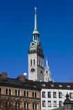 St. Peter kerk in München Royalty-vrije Stock Foto's