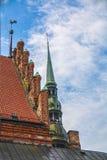 St Peter kerktorenspits stock afbeelding