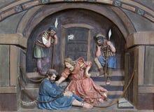 St Peter in kettingen royalty-vrije stock foto's