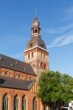 St Peter Kirche, Lettland lizenzfreies stockfoto
