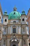 St Peter Kirche in Wien, Österreich Lizenzfreies Stockfoto
