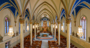 St Peter kościół katolicki Fotografia Stock