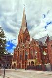 St Peter kościół w Hamburg, Niemcy zdjęcia stock