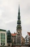 St. Peter kościół, Ryski Obrazy Stock