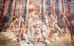 St Peter kopuła w Rzym Fotografia Stock