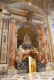 St Peter kopuła w Rzym Zdjęcia Stock
