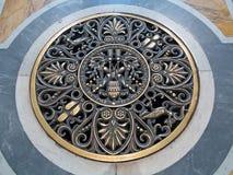 St Peter kupol i Rome Arkivfoto
