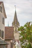St Peter Landmark Zurich, céntrico Fotos de archivo libres de regalías